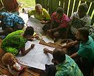 Villagers of Wairiki District Vanualevu at a workshop on protecting the Labasa Water Catchment.