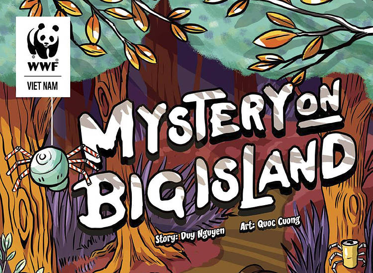 "WWF-Viet Nam: Consultancy on ""Mystery on Big Island"" animation making – BMU project"