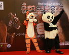 Global Tiger Day 2016 celebration in AEON Mall, Phnom Penh