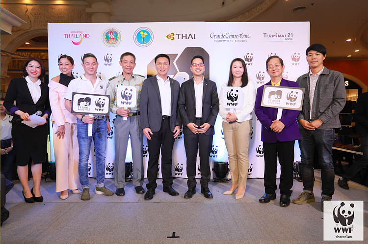 WWF Thailand joins with five tourism organizations to announce results of the #TravelIvoryFree2019 campaign